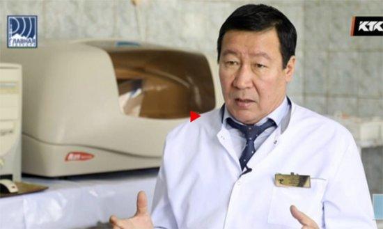 Видеофильм о Казахском Республиканском лепрозорий