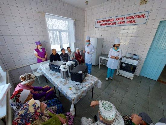 Благодарность за активное участие в проведении «Всемирного дня помощи больным лепрой